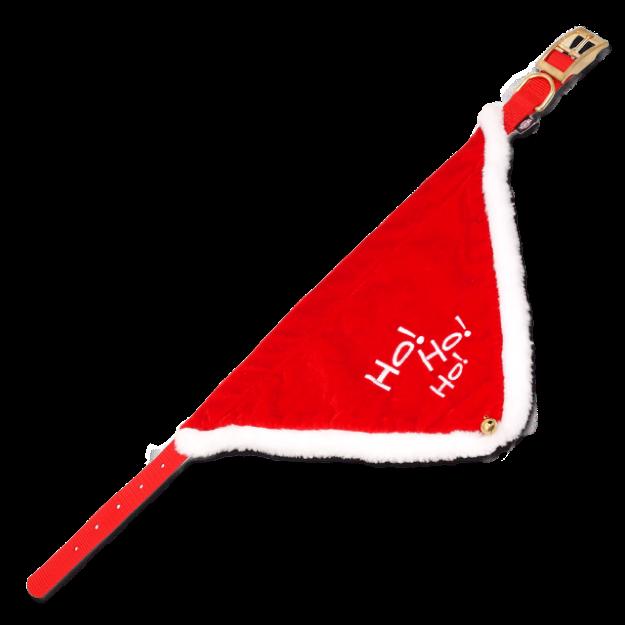 Obojek TRIXIE Necki X-mass cervený S-M
