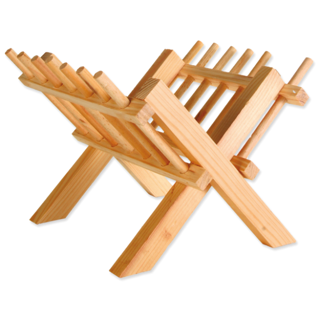 Jeslicky TRIXIE drevené 26 cm