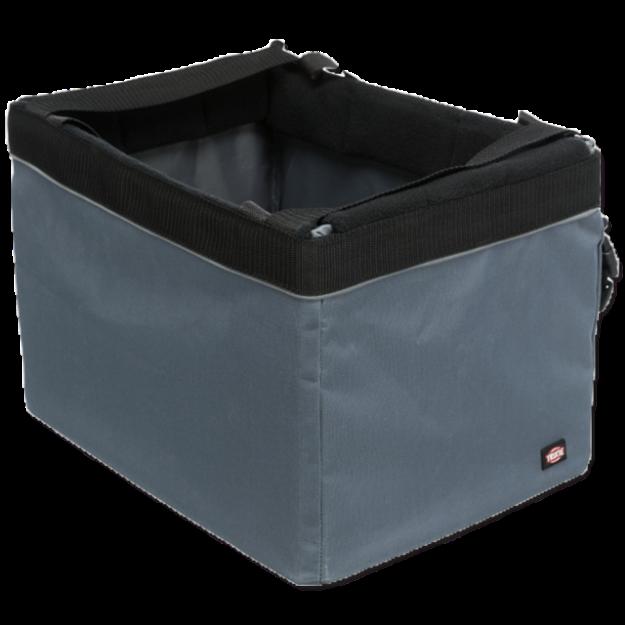 Prepravní box TRIXIE na jízdní kolo šedý